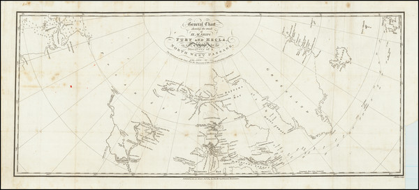 9-Polar Maps and Canada Map By William Edward Parry