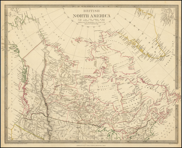 92-Alaska and Canada Map By SDUK