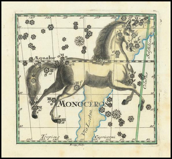 66-Celestial Maps Map By Corbinianus Thomas