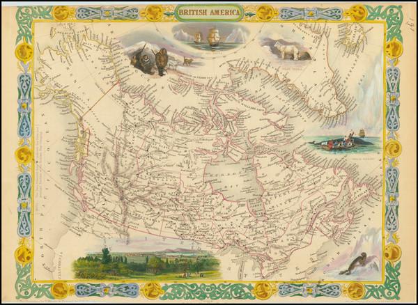4-Canada Map By John Tallis