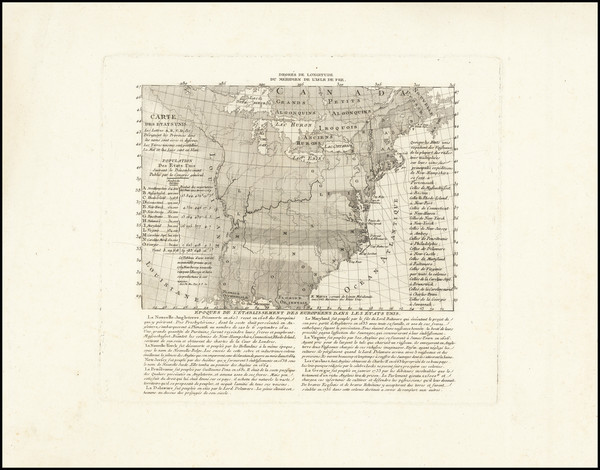 39-United States Map By Francois Godefroy