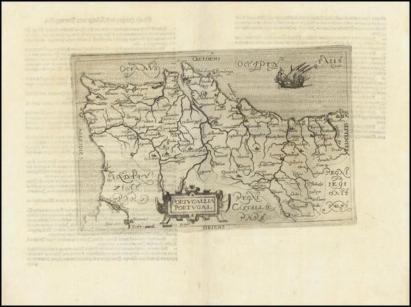 6-Portugal Map By Johannes Matalius Metellus