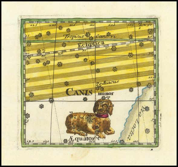 62-Celestial Maps Map By Corbinianus Thomas