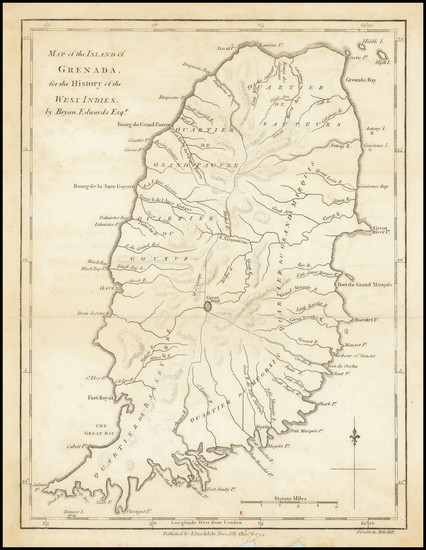 58-Other Islands Map By Bryan Edwards  &  John Stockdale