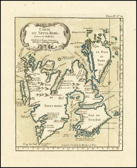 62-Polar Maps and Russia Map By Jacques Nicolas Bellin