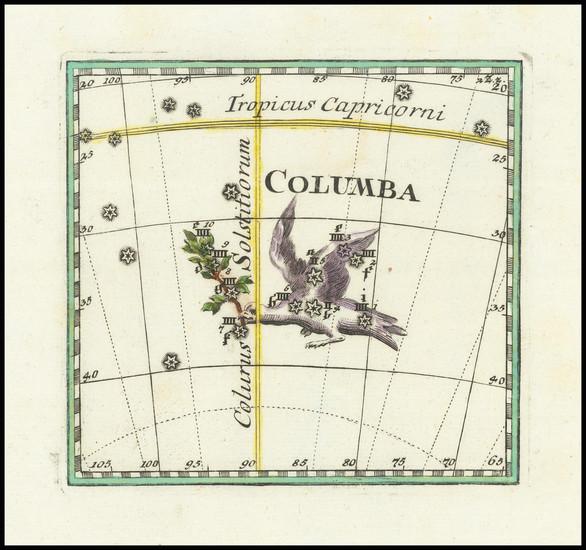 1-Celestial Maps Map By Corbinianus Thomas