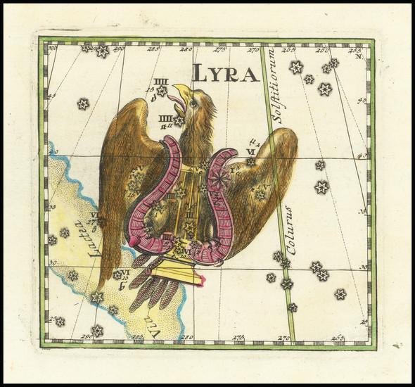 60-Celestial Maps Map By Corbinianus Thomas