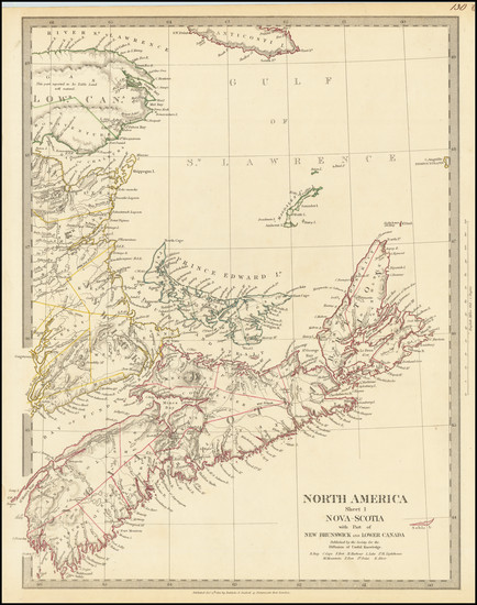 94-Eastern Canada Map By SDUK