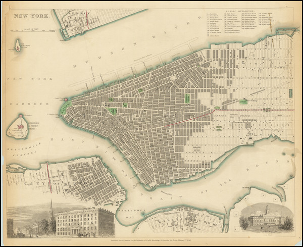 17-New York City Map By SDUK