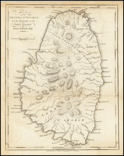 8-Other Islands Map By Bryan Edwards  &  John Stockdale