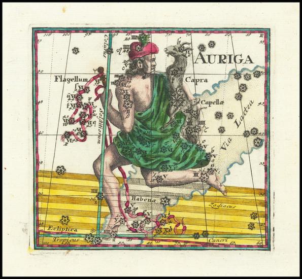 81-Celestial Maps Map By Corbinianus Thomas