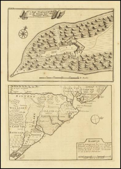 58-Sri Lanka Map By Francois Valentijn