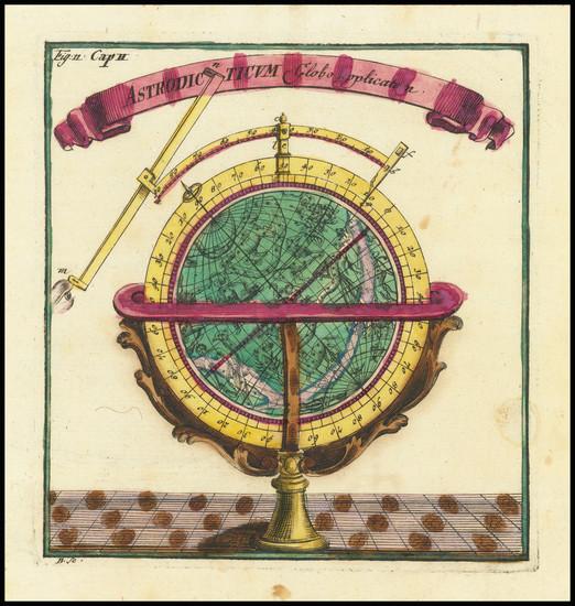 45-Celestial Maps Map By Corbinianus Thomas