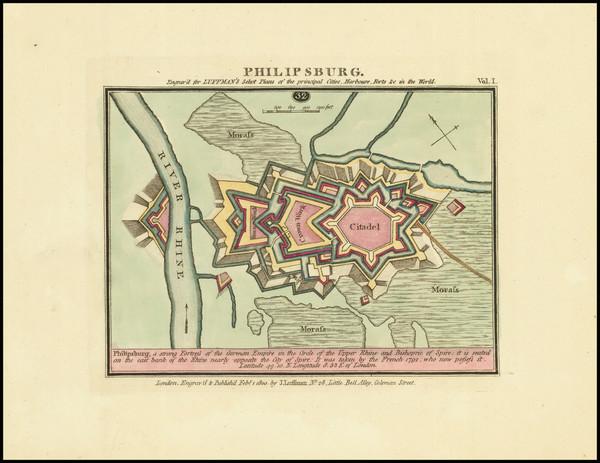 58-Süddeutschland Map By John Luffman