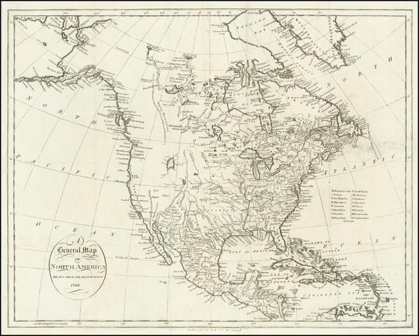 89-North America Map By John Reid