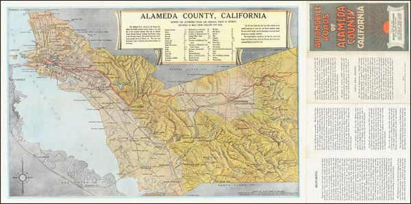 3-San Francisco & Bay Area Map By Board of Supervisors Alameda County