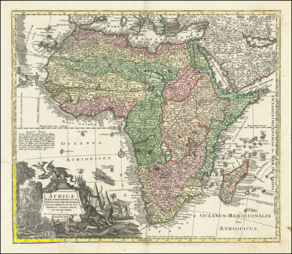 4-Africa Map By