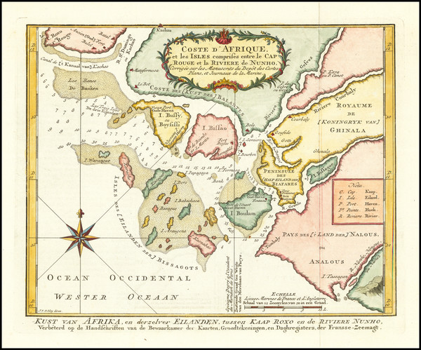 8-West Africa Map By J.V. Schley
