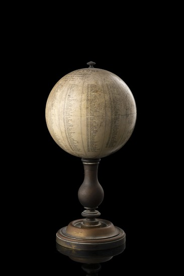 19-Globes & Instruments and Celestial Maps Map By Camille Flammarion