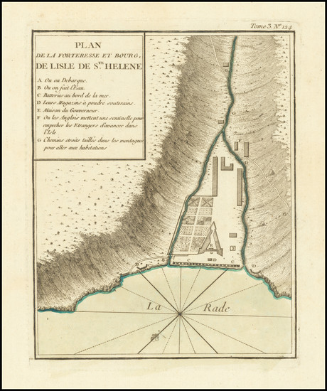 62-British Isles and African Islands, including Madagascar Map By Jacques Nicolas Bellin