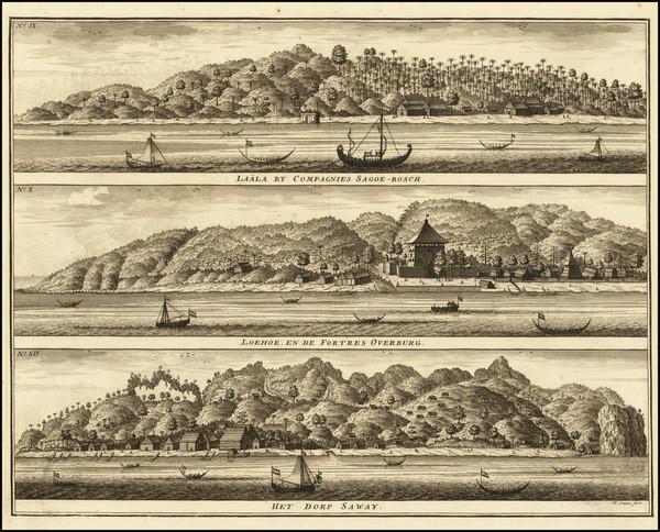 66-Indonesia Map By Philippe Marie Vandermaelen