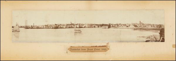 8-Massachusetts Map By Henry Sherman Wyer