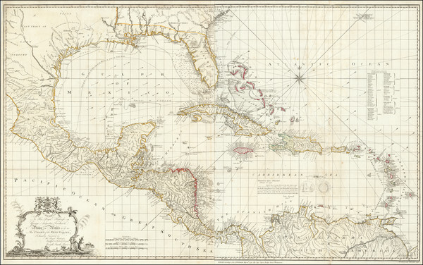 20-Florida, South, Mexico, Caribbean, Central America and South America Map By Joseph Smith Speer