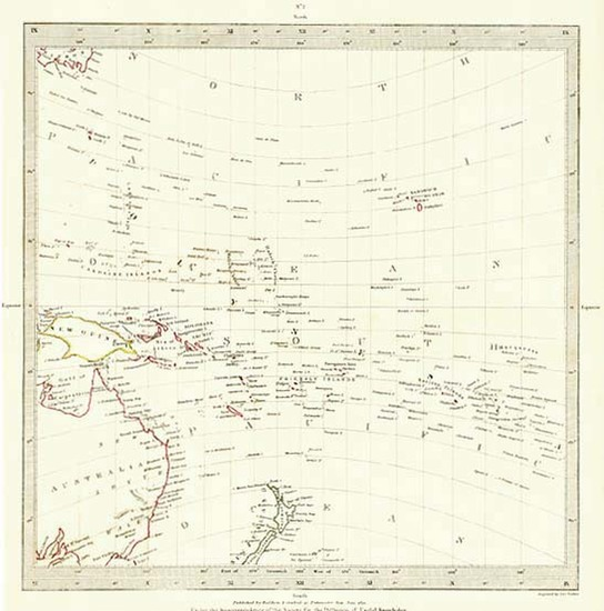 92-Australia & Oceania, Oceania, New Zealand, Hawaii and Other Pacific Islands Map By SDUK