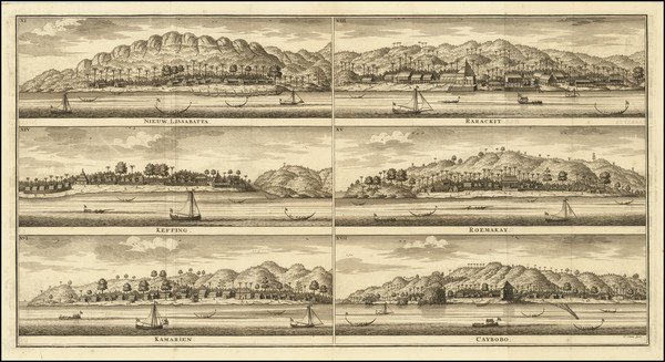 15-Indonesia Map By Francois Valentijn