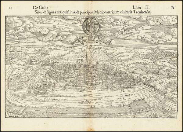 6-Mitteldeutschland Map By Sebastian Munster