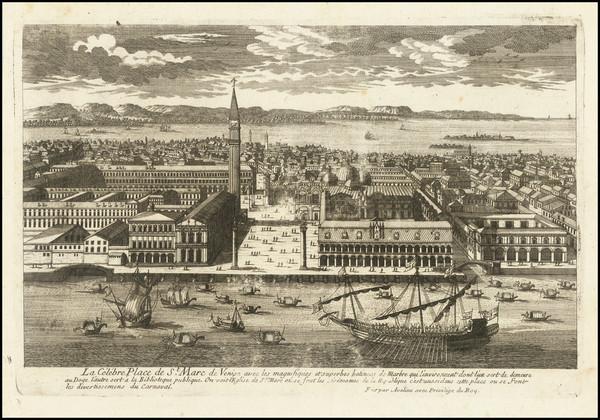 94-Venice Map By Pierre Alexander Aveline