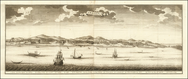 12-Indonesia Map By Francois Valentijn