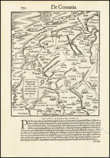 25-Netherlands Map By Sebastian Munster