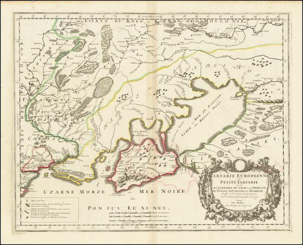 30-Ukraine Map By Nicolas Sanson
