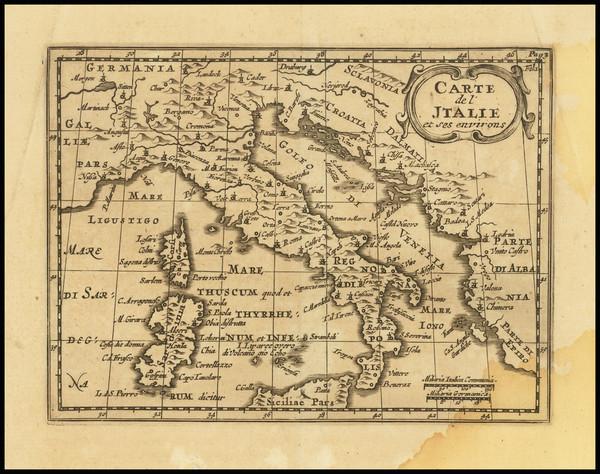 67-Italy Map By Alexandre de Rogissart