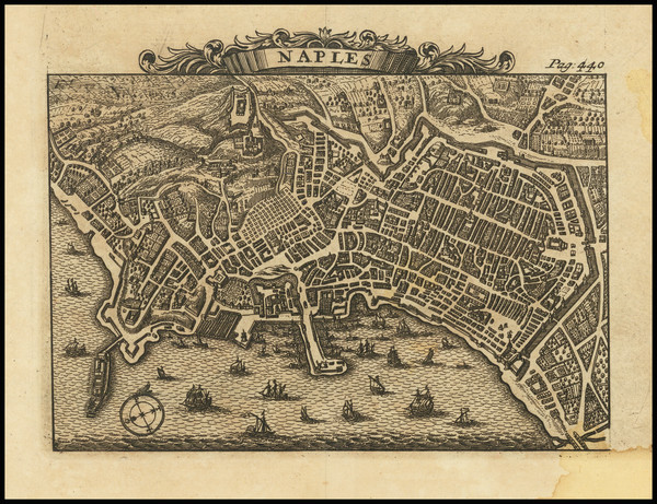 19-Southern Italy and Other Italian Cities Map By Alexandre de Rogissart