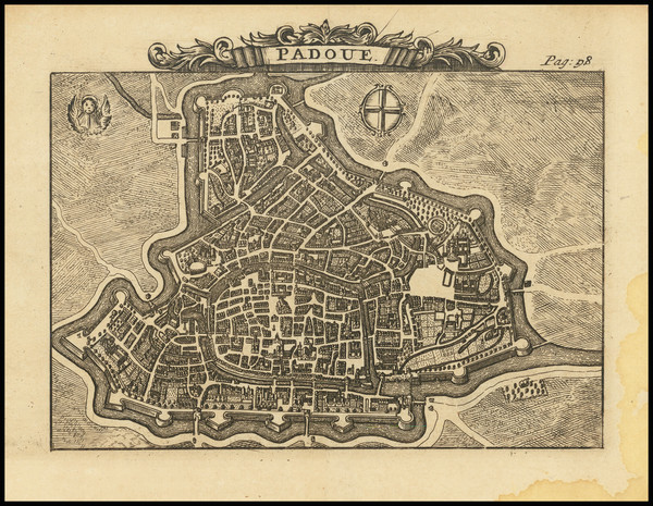 80-Northern Italy and Other Italian Cities Map By Alexandre de Rogissart