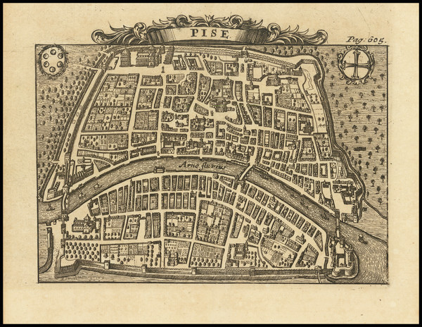 43-Northern Italy and Other Italian Cities Map By Alexandre de Rogissart