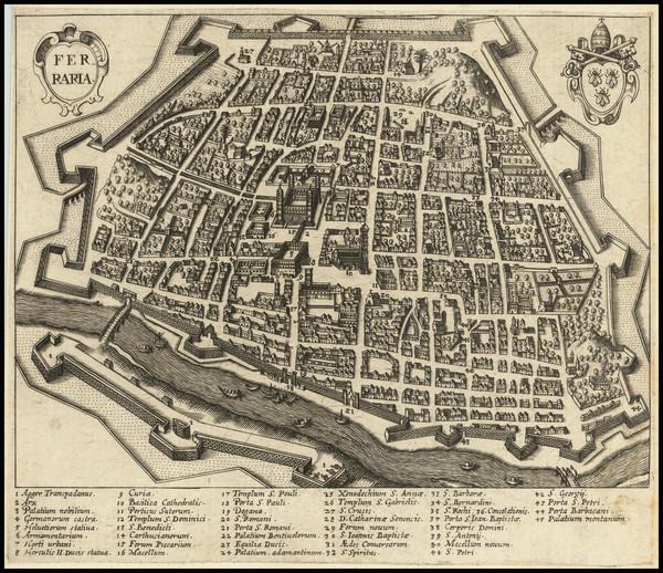 80-Other Italian Cities Map By Alexandre de Rogissart