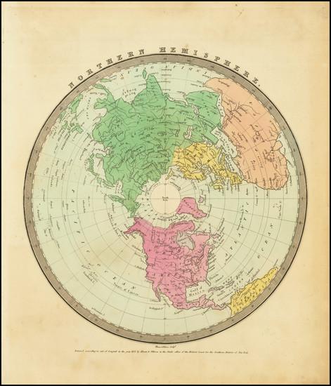 6-Northern Hemisphere and Polar Maps Map By David Hugh Burr