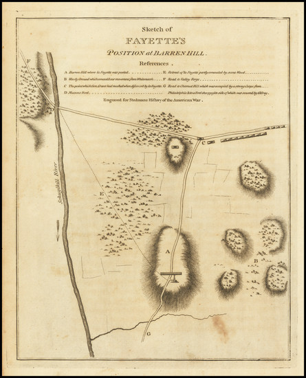 79-Mid-Atlantic and Pennsylvania Map By Charles Stedman
