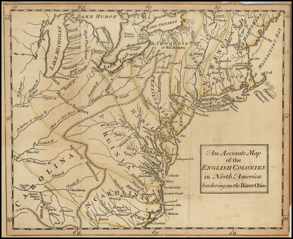 72-New England, Mid-Atlantic, Southeast and Midwest Map By Universal Magazine