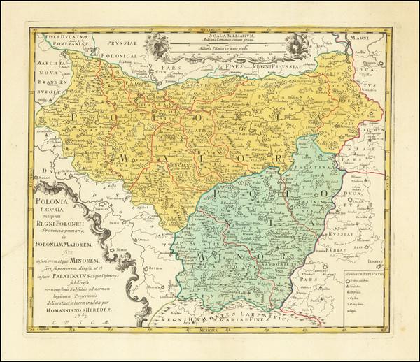 4-Poland Map By Homann Heirs