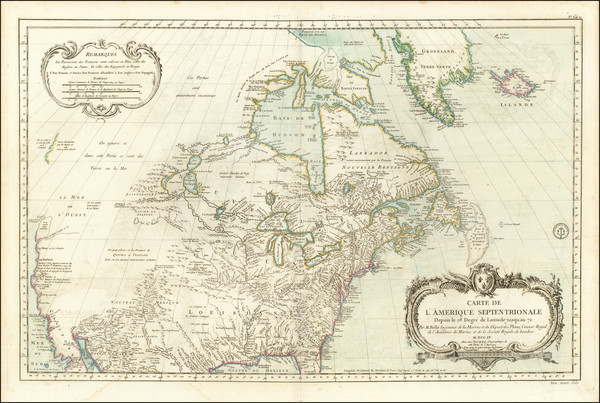 78-United States, Midwest, Plains, Southwest, Rocky Mountains and North America Map By Jacques Nic