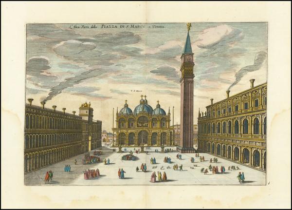 86-Venice Map By Matthaus Merian