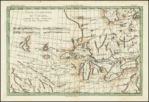 65-Midwest and Canada Map By Rigobert Bonne