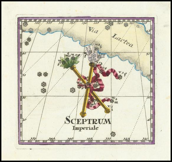 42-Celestial Maps Map By Corbinianus Thomas