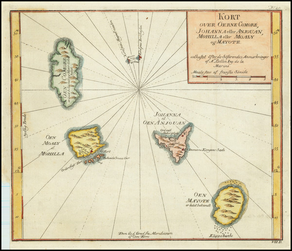 62-African Islands, including Madagascar Map By Anonymous