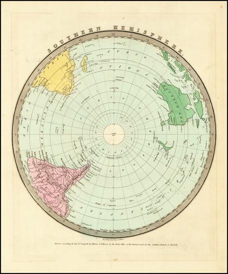 19-Northern Hemisphere and Polar Maps Map By David Hugh Burr