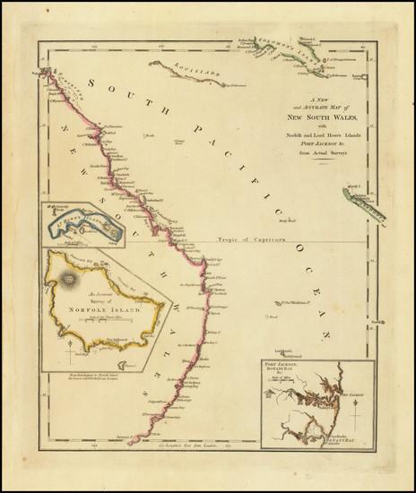 74-Australia Map By Robert Wilkinson
